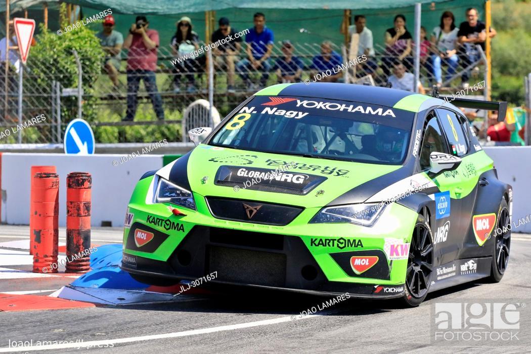 Stock Photo: WTCR 2018: Vila Real. Race of Portugal, Pratice Action. Nagy, Cupra TCR #8.