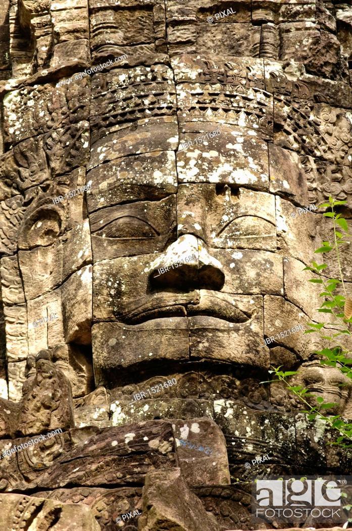 Stock Photo: Ta Som, Angkor Wat complex, Siem Reap, Cambodia, Southeast Asia, Asia.