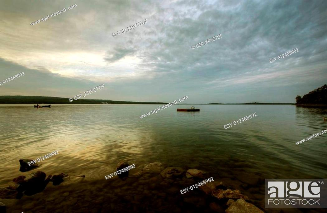 Photo de stock: swimming platform.