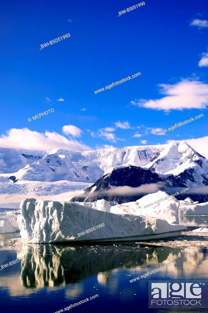 Imagen: glacier, Antarctica.