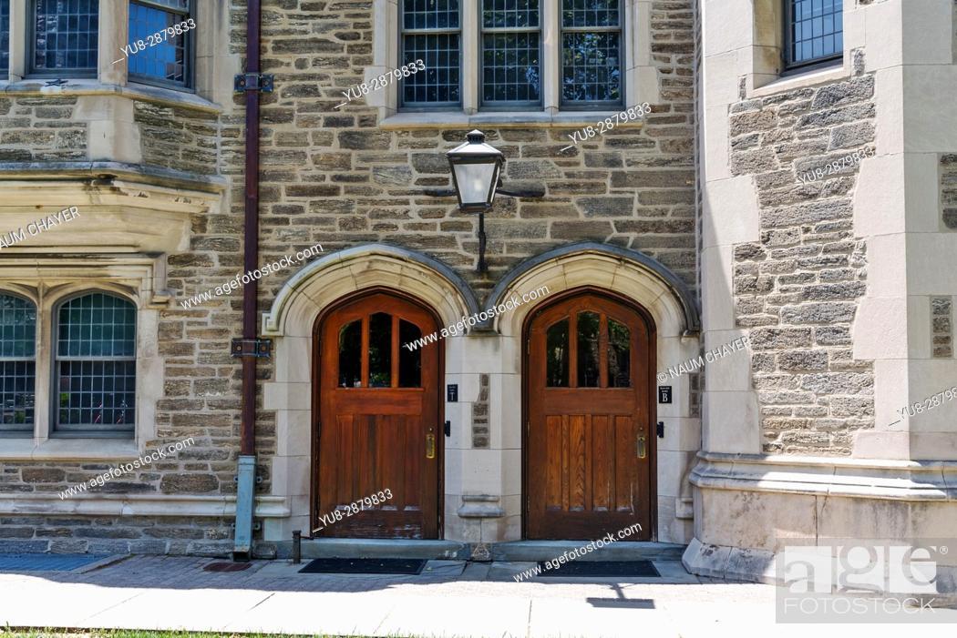 Stock Photo: World famous Princeton University, New Jersey, USA.