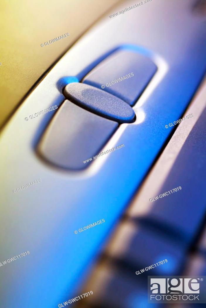 Stock Photo: Close-up of a laptop.