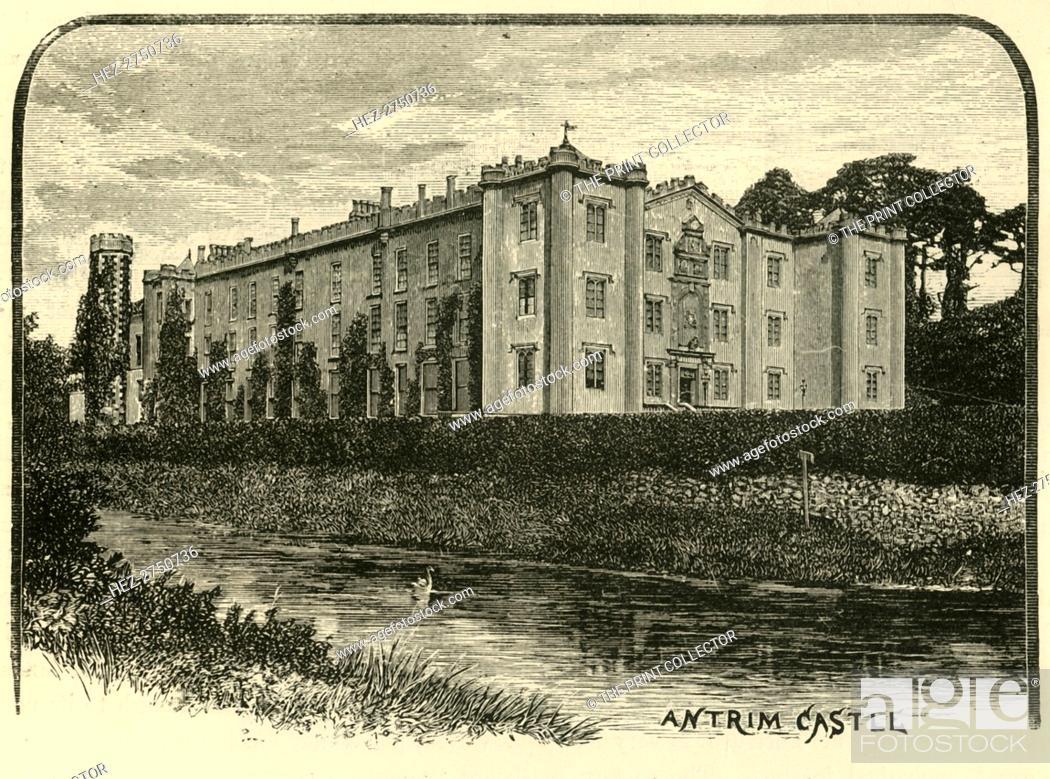 Stock Photo: 'Antrim Castle', 1898. Creator: Unknown.