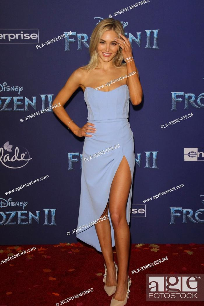 "Stock Photo: Michelle Randolph at Disney's """"Frozen II"""" World Premiere held at the Dolby Theatre in Hollywood, CA, November 7, 2019. Photo Credit: Joseph Martinez /."