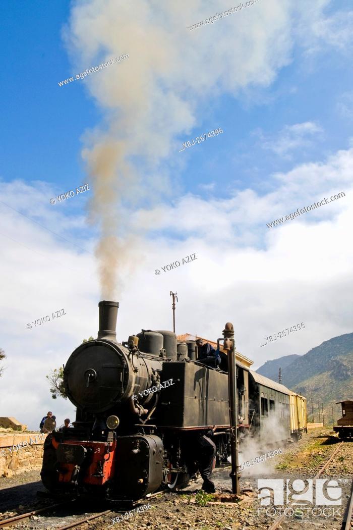 Stock Photo: Eritrean railways, From Asmara to Massawa, Nefasit, Eritrea.