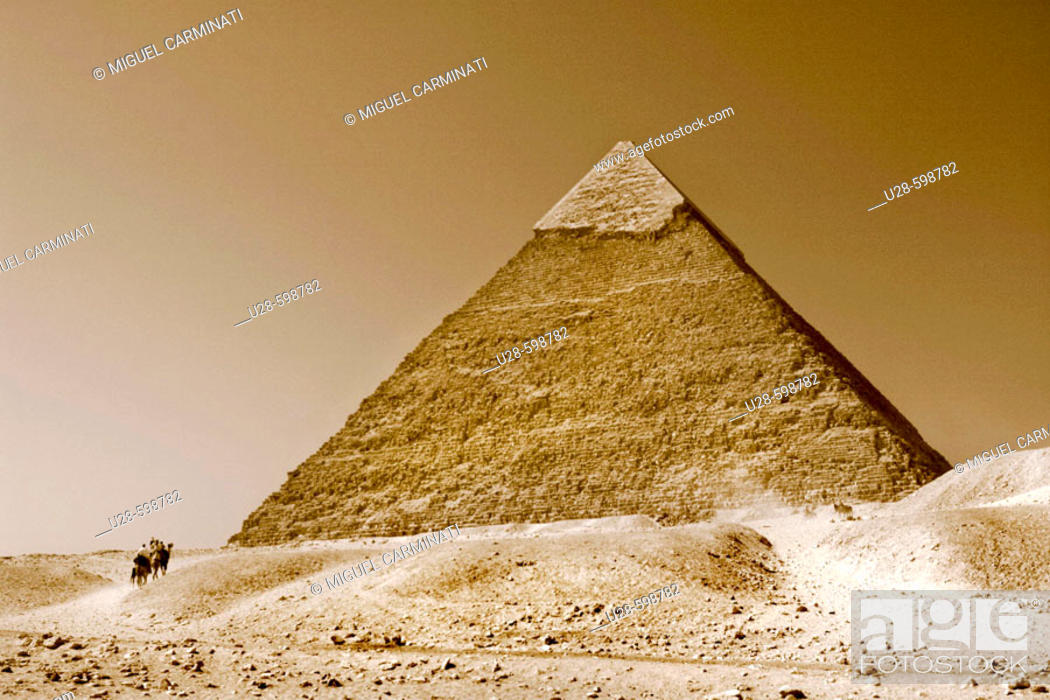Stock Photo: Pyramid. Giza. Egypt.