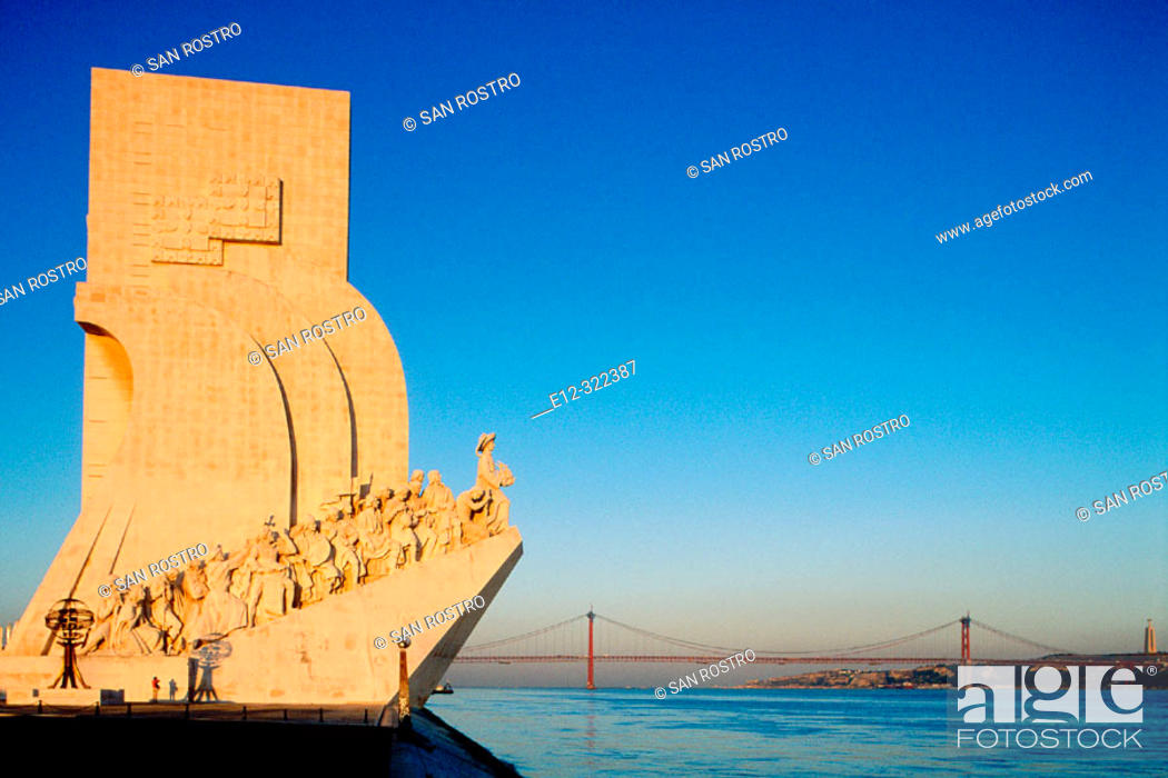 Stock Photo: Monument of the Discoveries. Lisbon. Portugal.