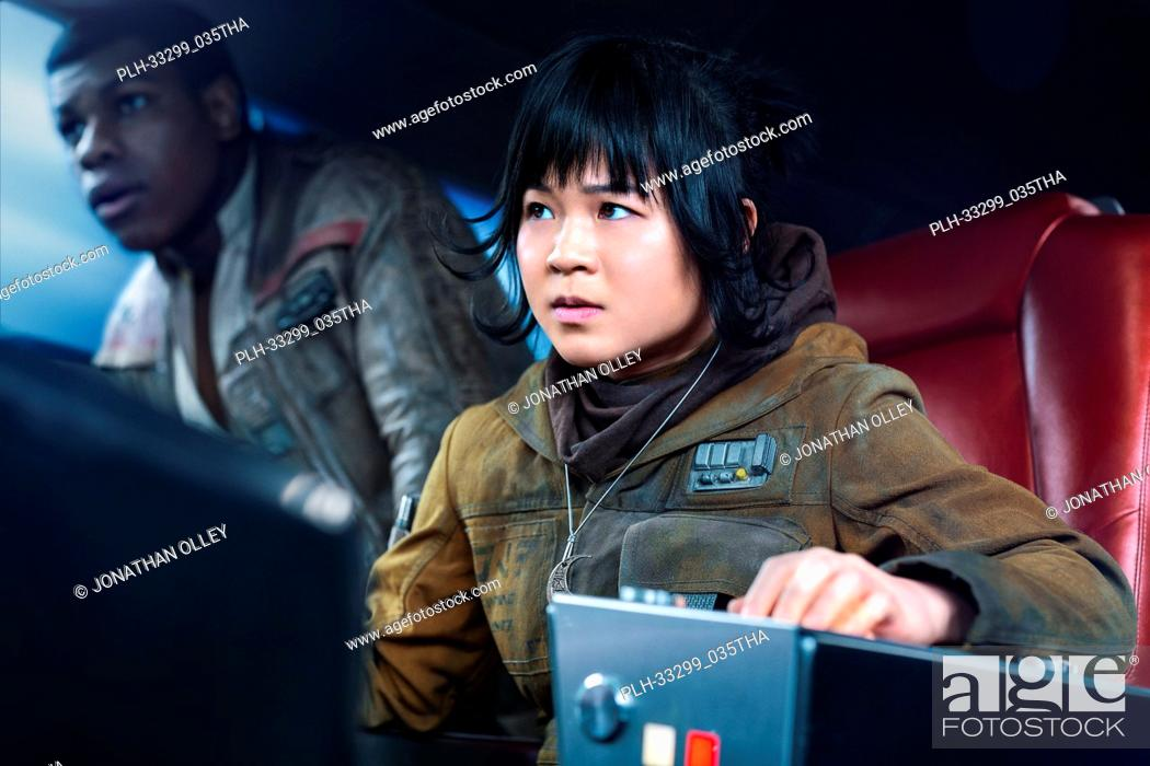 "Stock Photo: Kelly Marie Tran is Rose and John Boyega is Finn in """"Star Wars: The Last Jedi"""" (2017)."