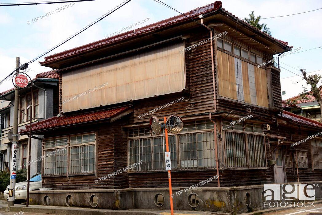Stock Photo: Street View Kanazawa Japan.