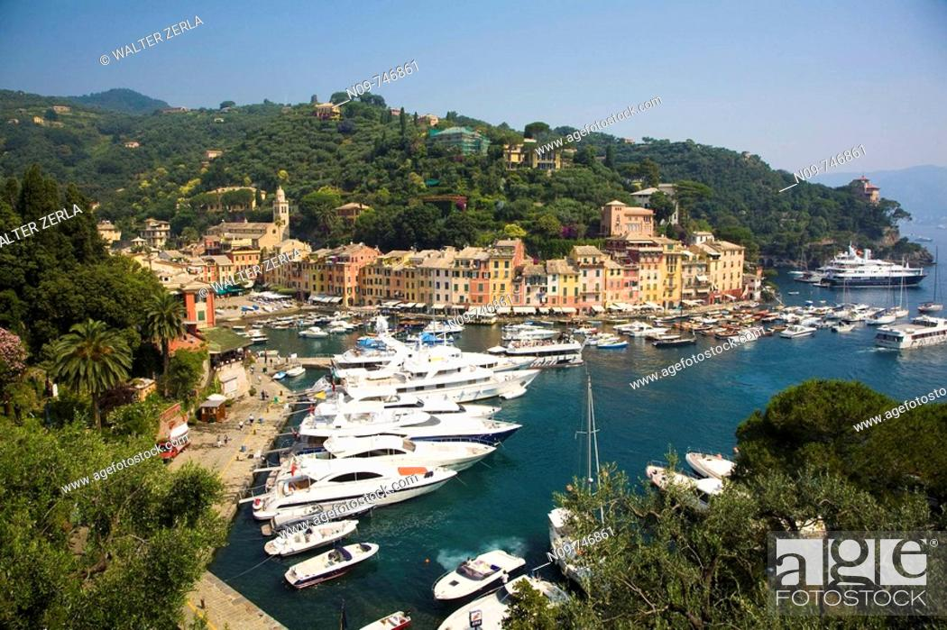 Stock Photo: Portofino. Liguria, Italy.