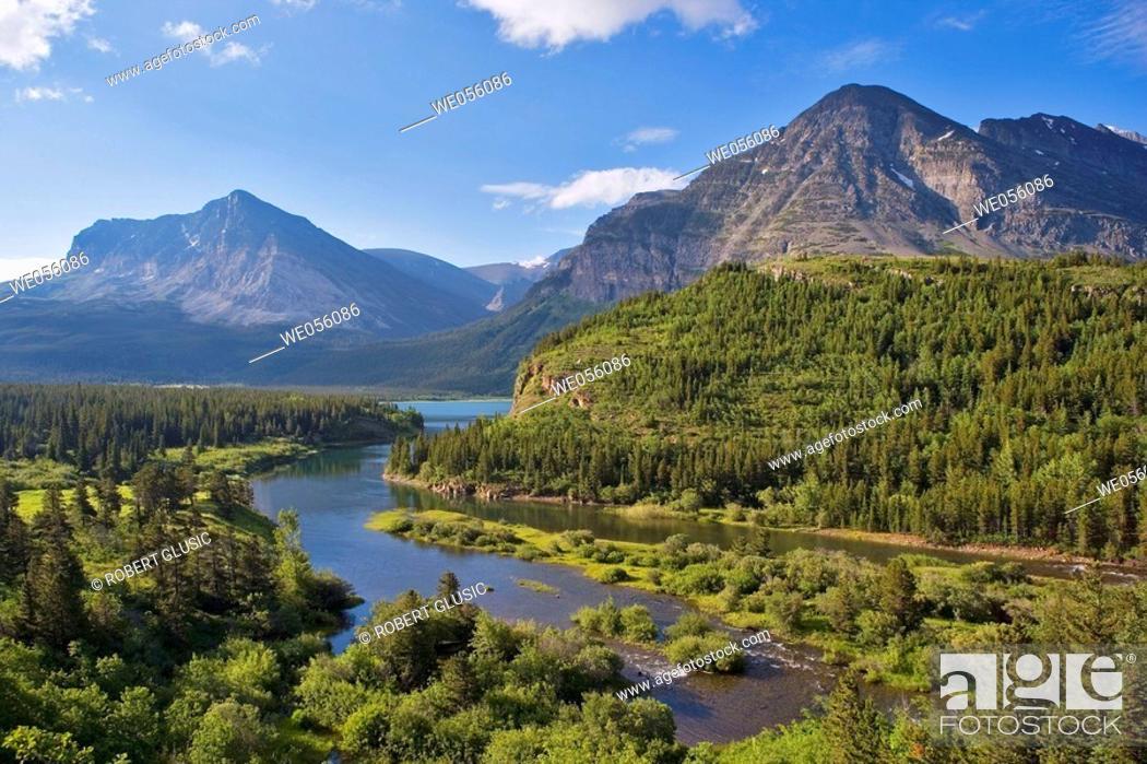 Stock Photo: Glacier National Park. Montana, USA.