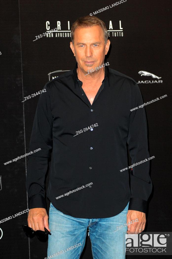 Imagen: kevin Costner; costner; actor; celebrities; 2016; rome; italy; event; photocall ; criminal.