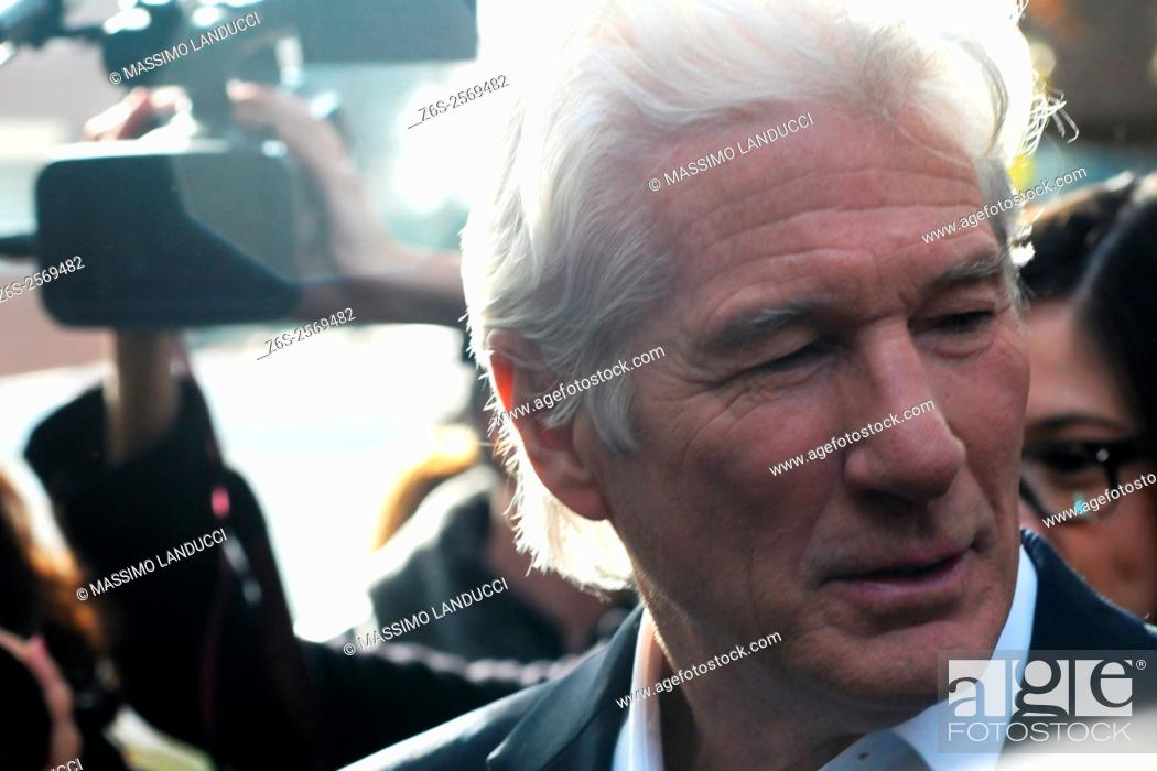 Imagen: Richard Gere; gere; actor; celebrities; 2015; rome; italy; event; photocall ; franny.