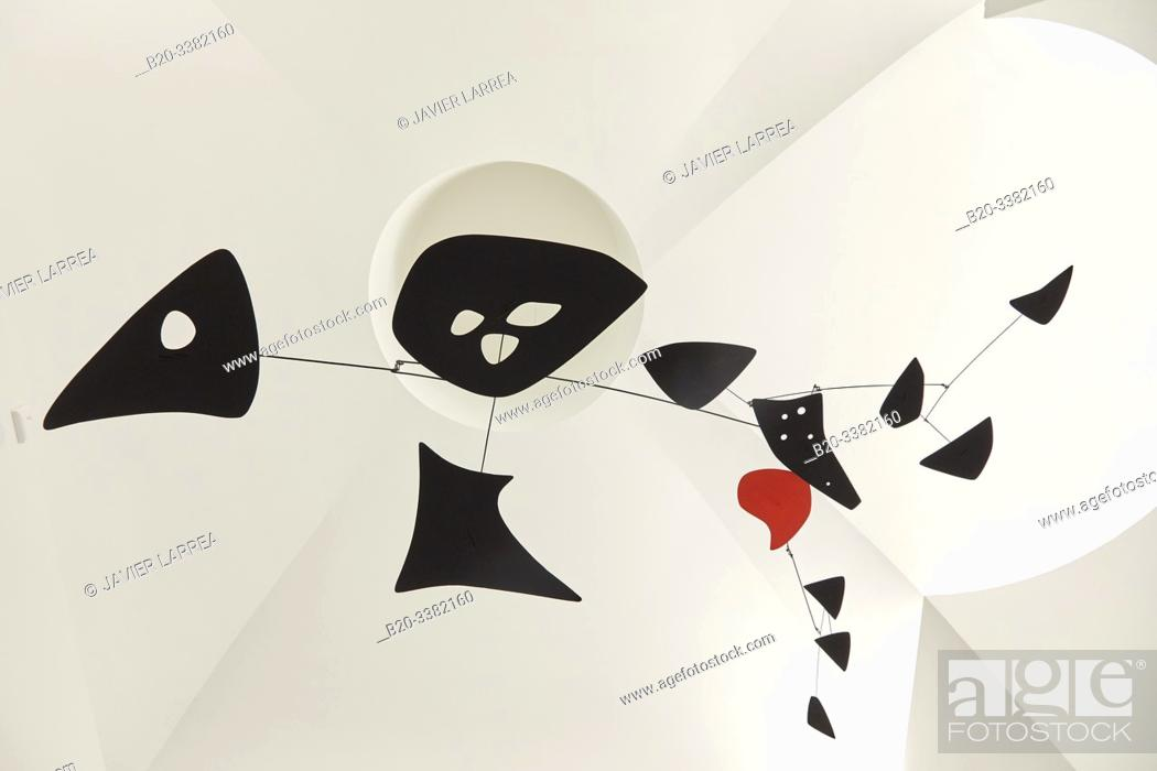 "Stock Photo: ""Untitled"", 1955, Alexander Calder, Picasso Museum, Paris, France, Europe."