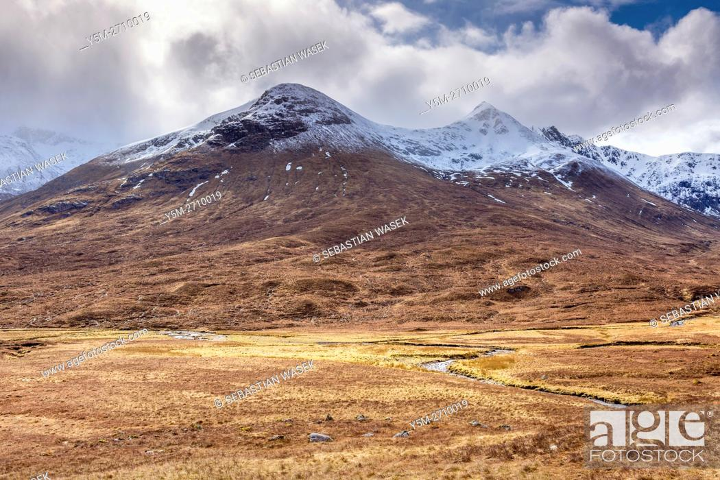 Stock Photo: Glen Shiel, Highland, Scotland, United Kingdom, Europe.