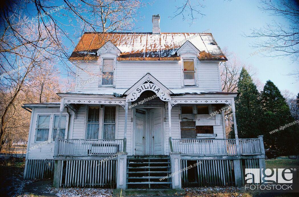 Stock Photo: Silvia's haunted house.