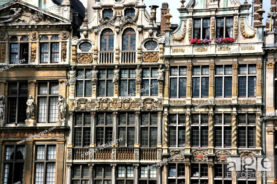 Stock Photo: Brussels architecture.