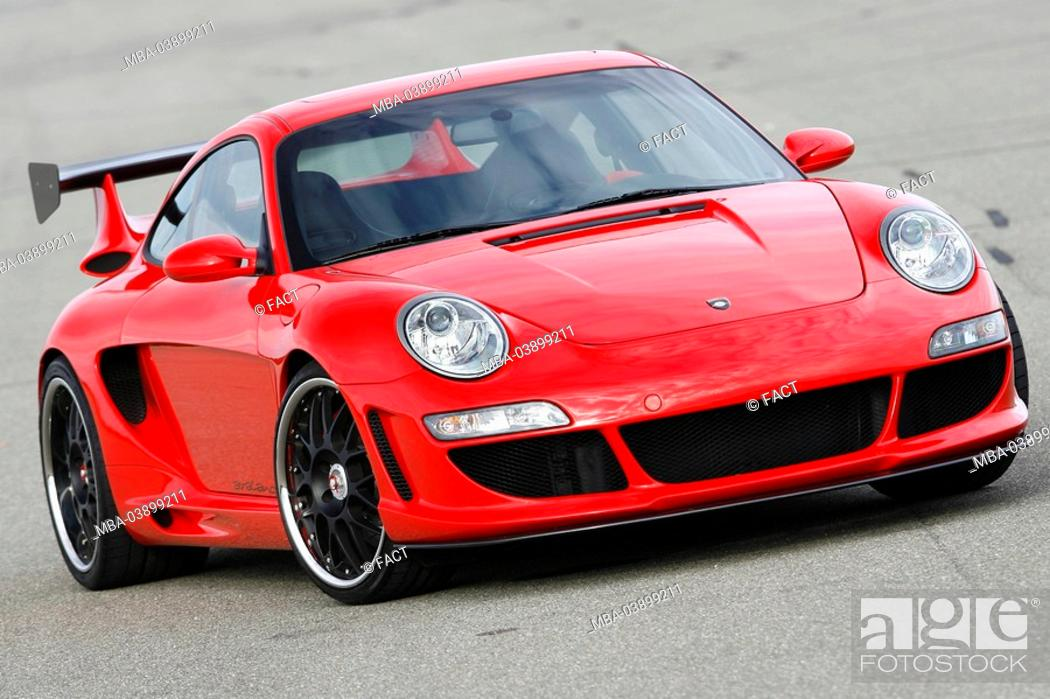 Porsche Gemballa 650 Avalanche Red Front Opinion Series Car