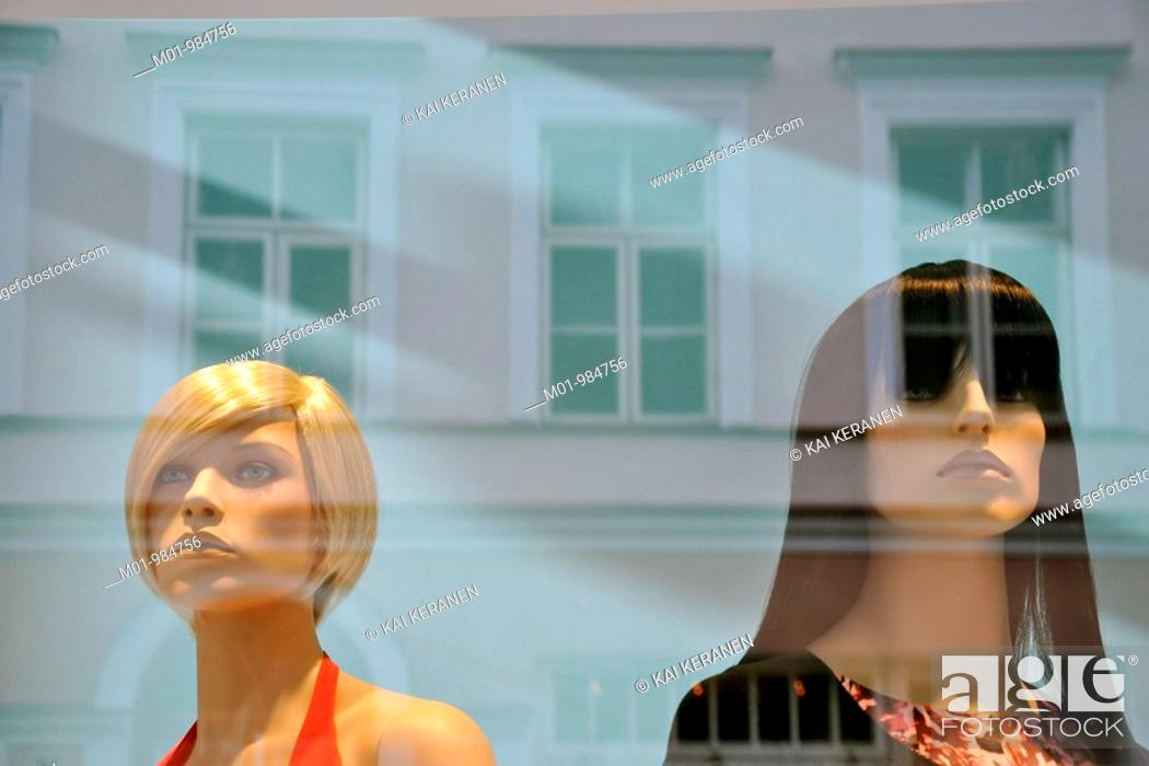 Stock Photo: Mannequins.