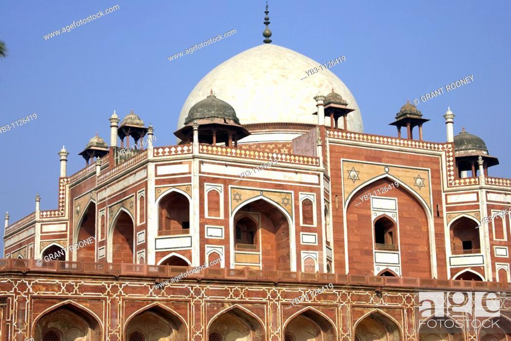 Imagen: Humayun's Tomb, New Delhi, India.