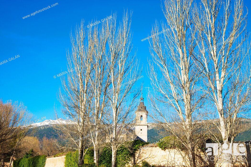 Imagen: El Paular monastery. Rascafria, Madrid province, Spain.