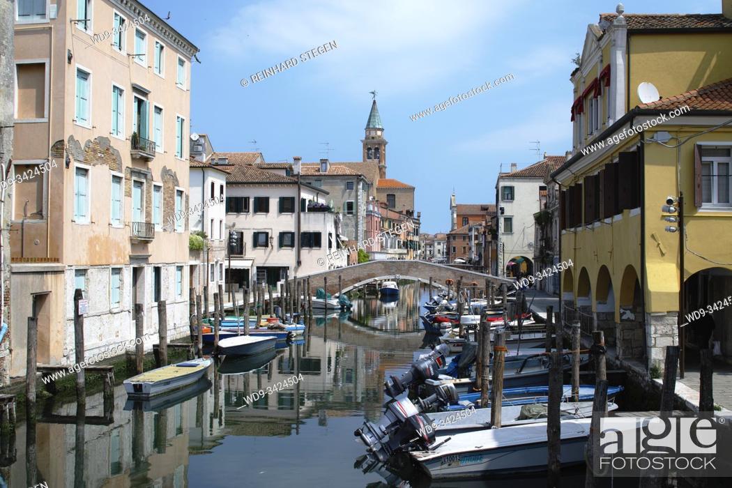 Imagen: Chioggia, canal. Veneto, Italy.