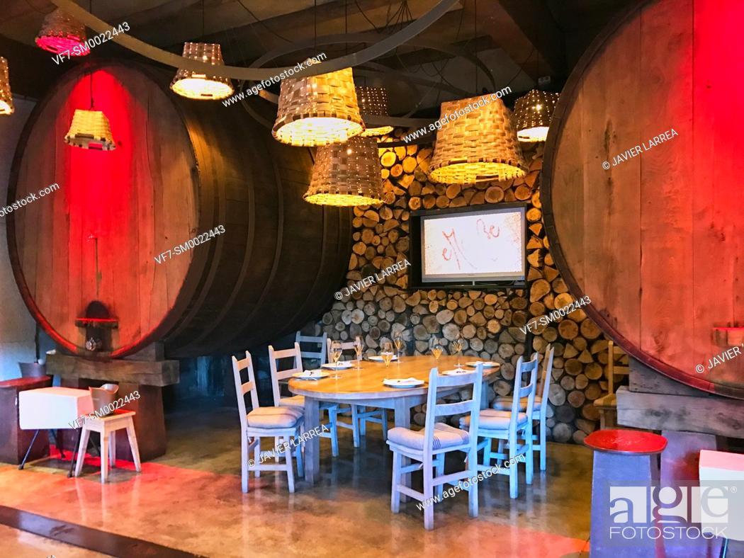 Stock Photo: Restaurante Sidreria eMe Be Garrote, San Sebastian, Donostia, Gipuzkoa, Basque Country, Spain, Europe.