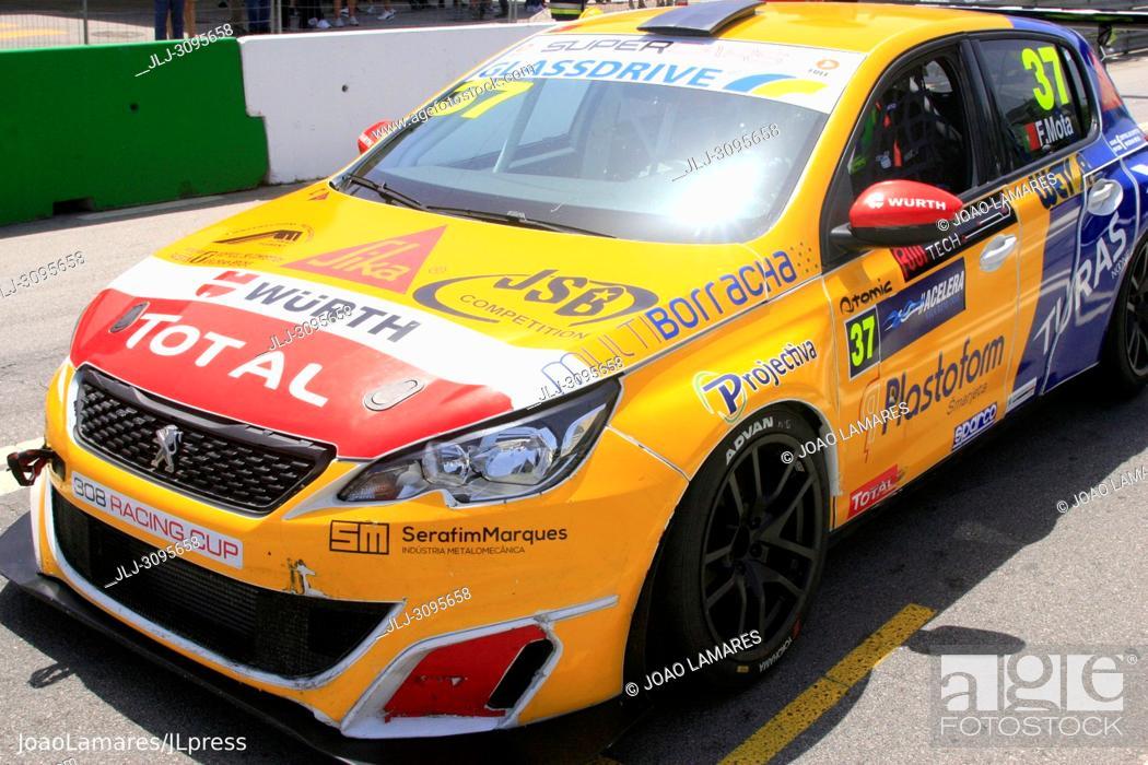 Stock Photo: Fabio Mota, Peugeot 308 TCR #37, Vila Real, Portugal.