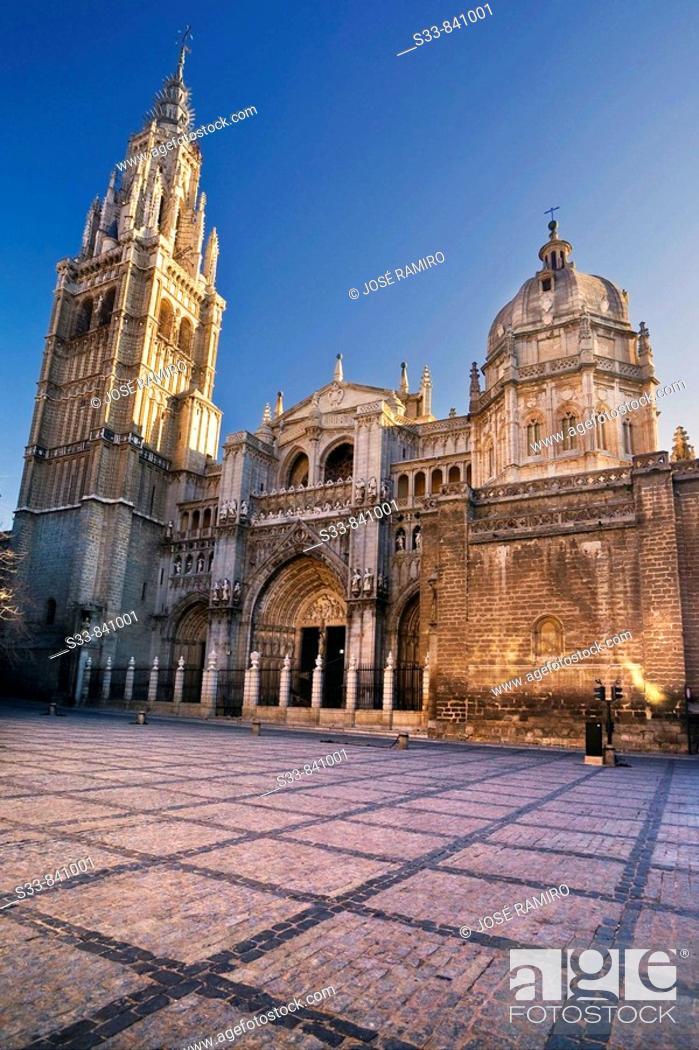 Stock Photo: Catedral de Toledo. Castile-La Mancha, Spain.