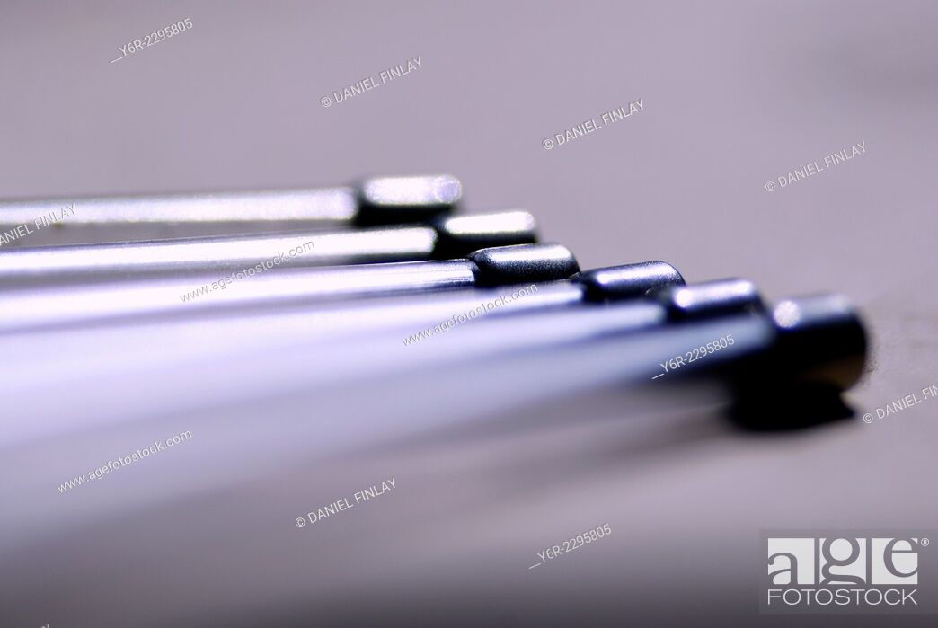 Stock Photo: Headset mouthpiece extensions.
