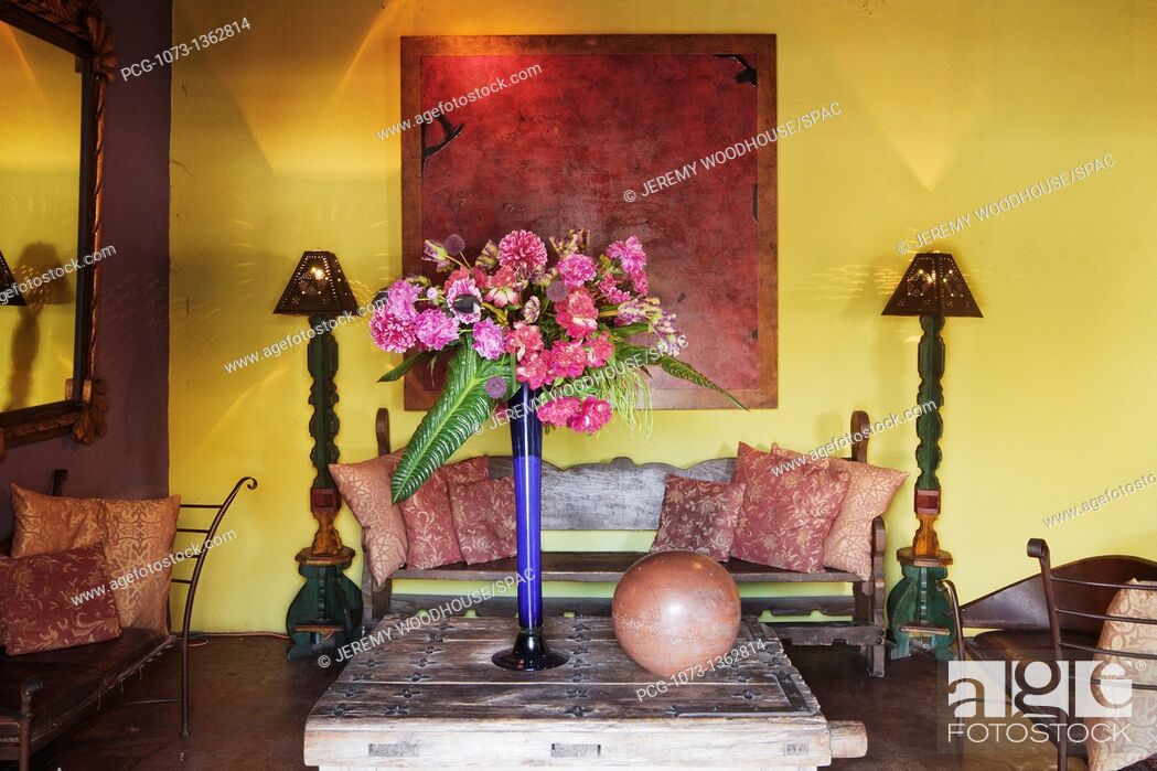 Stock Photo: Rustic Living Room.