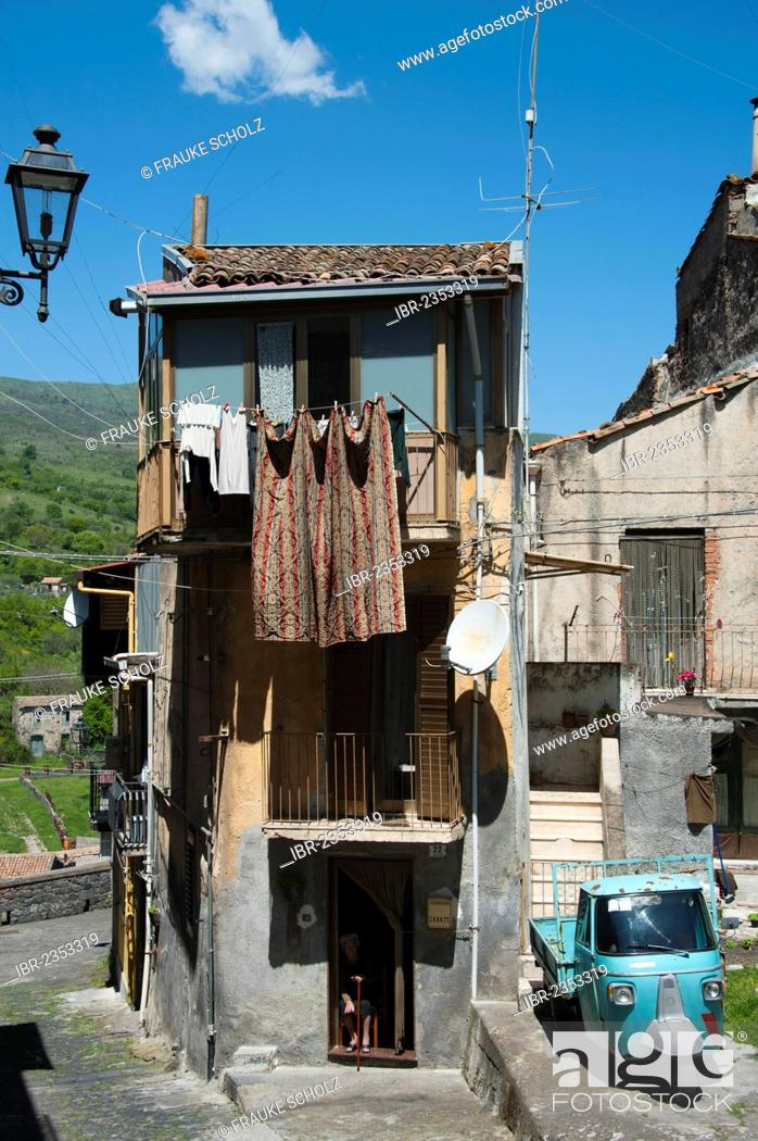 Historic Town Centre Randazzo Sicily Italy Europe Stock Photo Picture And Rights Managed Image Pic Ibr 2353319 Agefotostock
