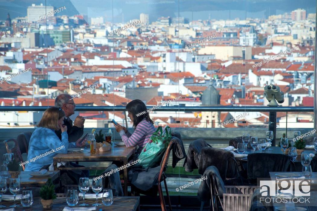 Terrace Circulo De Bellas Artes Azotea Calle De Alcalà