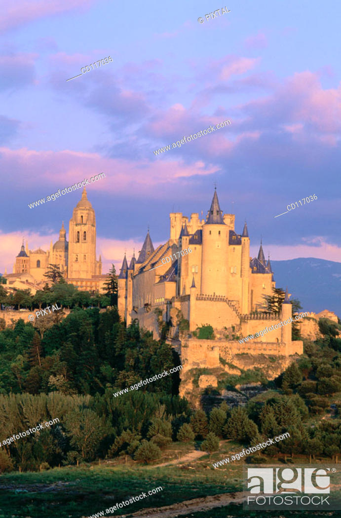 Stock Photo: Alcazar, medieval fortress built in XII century. Segovia. Spain.