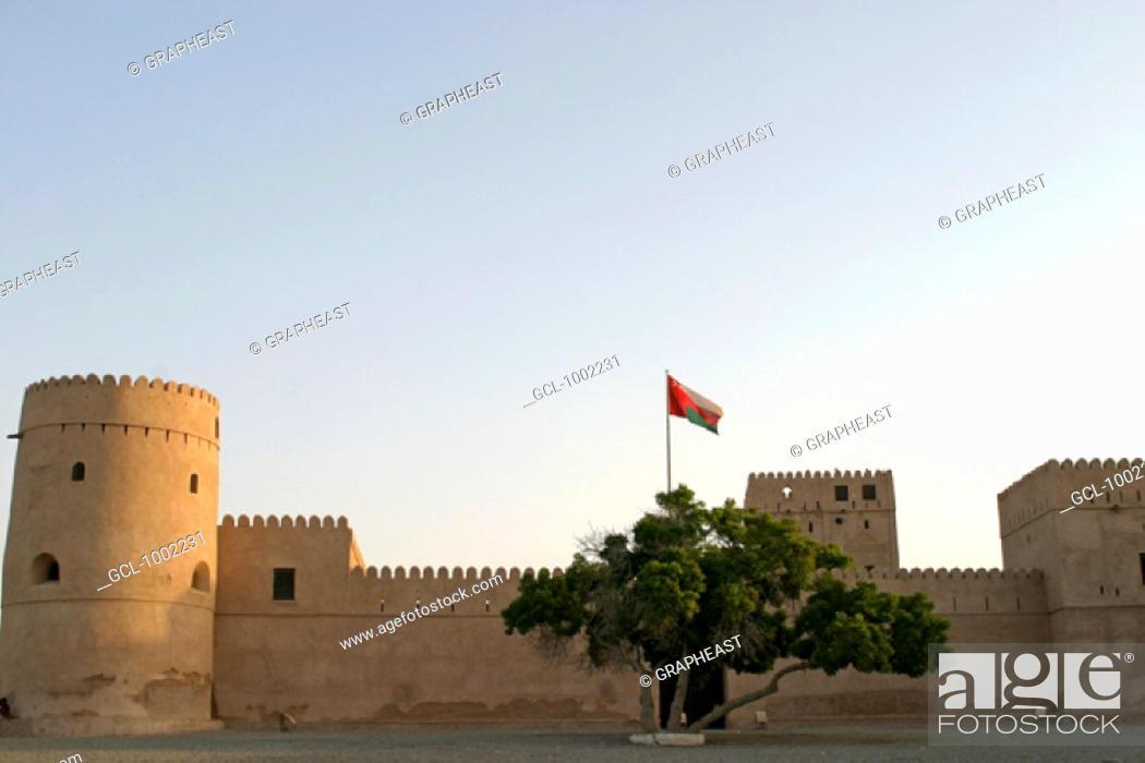 Stock Photo: Al Suwaiq fort, Oman.
