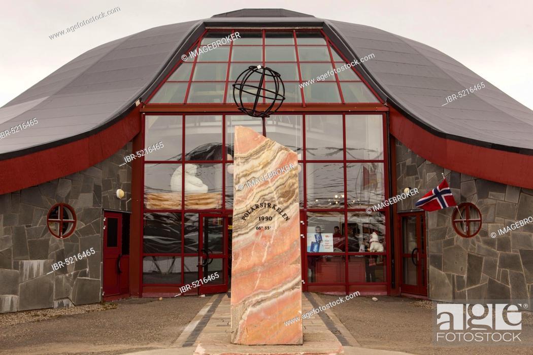 Stock Photo: Arctic Circle, Arctic Circle Centre, Mo i Rana, Norway, Europe.