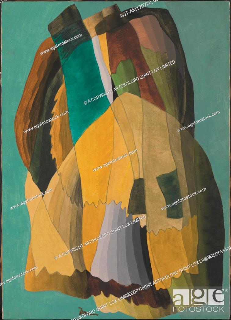 Stock Photo: Shore Road, 1942, Wax emulsion on canvas, 27 7/8 x 20 in. (70.8 x 50.8 cm), Paintings, Arthur Dove (American, Canandaigua, New York 1880–1946 Huntington.