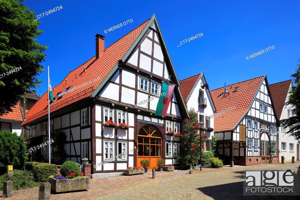 Imagen: Germany, Blomberg, Lipper Bergland, Lippisches Bergland, Weserbergland, Teutoburg Forest / Egge Hills Nature Park, East Westphalia, Westphalia.