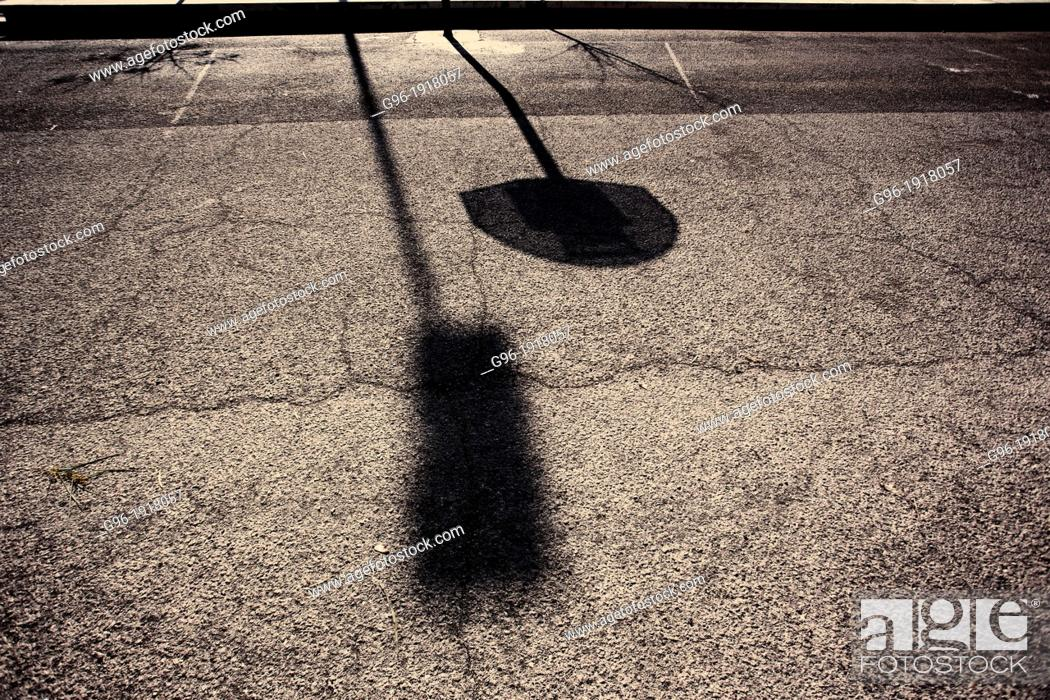 Stock Photo: Basketball playground.