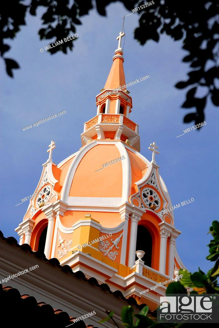 Imagen: Cupola of the Cathedral of Cartagena, Bolivar, Colombia.