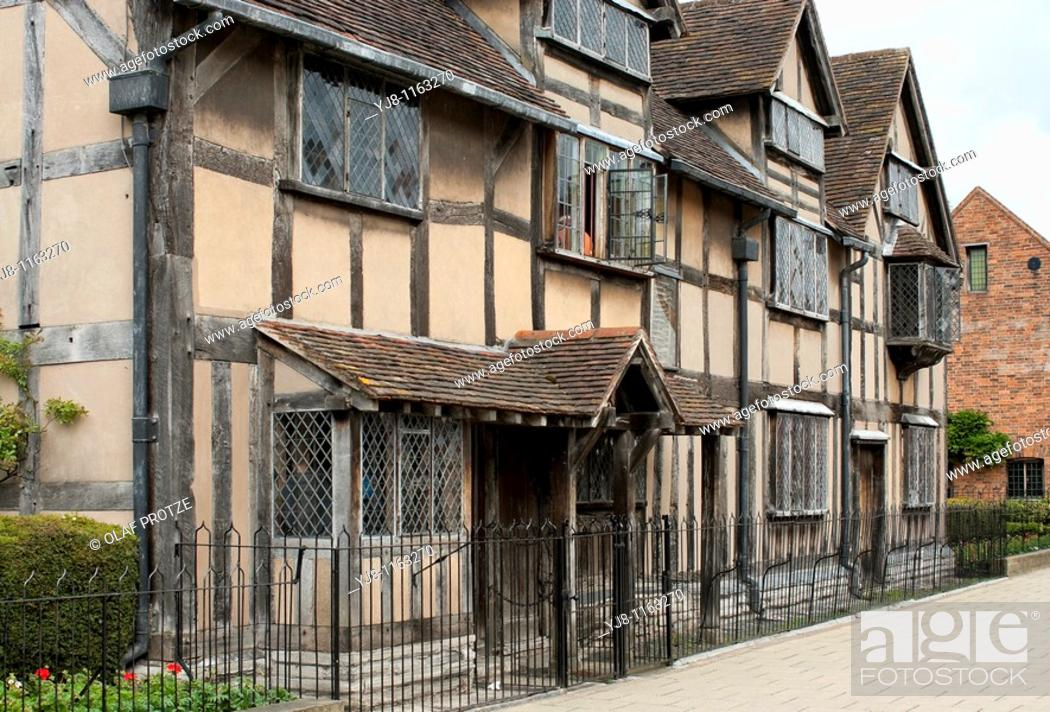 The Birth Place Of Shakespeare Where He Was Born In 1564