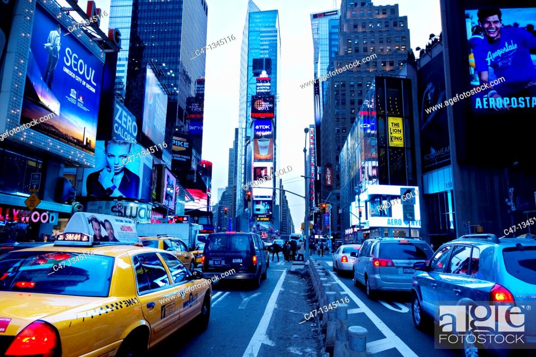 Stock Photo: Times Square, New York City, USA.