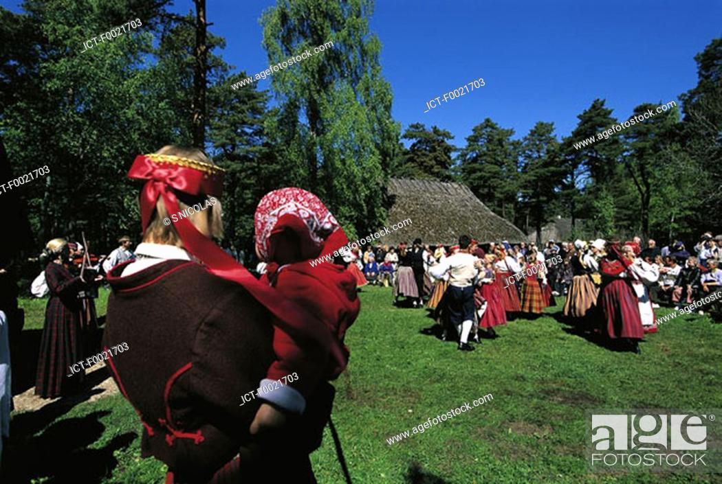 Stock Photo: Estonia, Tallinn, Rocca al Mare, Estonian Open-air Museum.