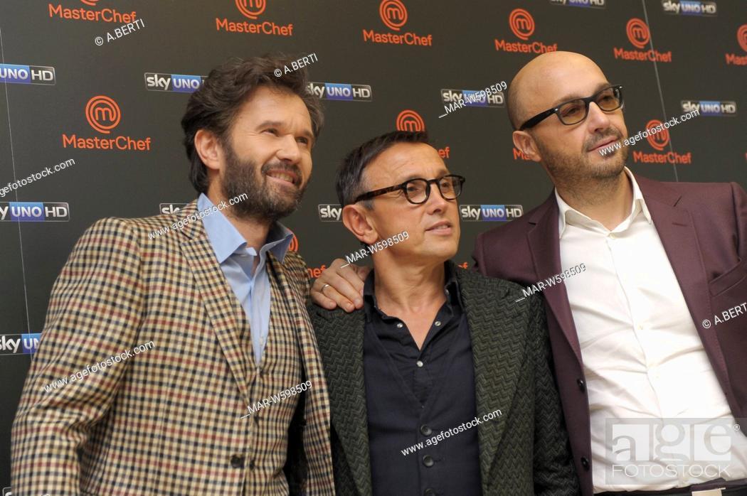 Imagen: carlo cracco, bruno barbieri, joe bastianich.
