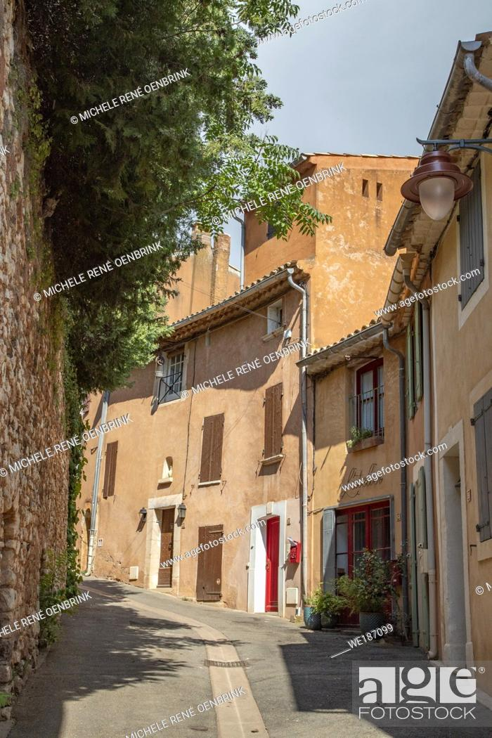 Stock Photo: Luberon France Provence Region of southern France.
