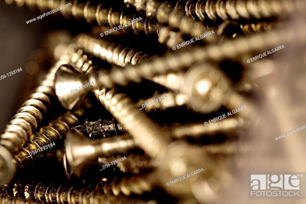 Stock Photo: screws.