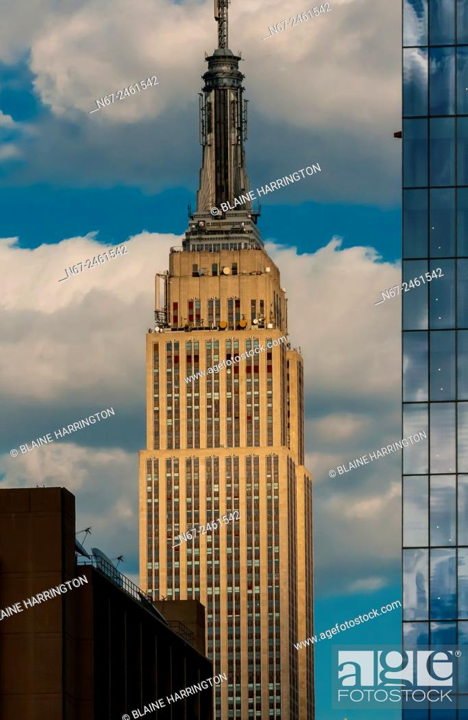 Stock Photo: Empire State Building, New York, New York USA.