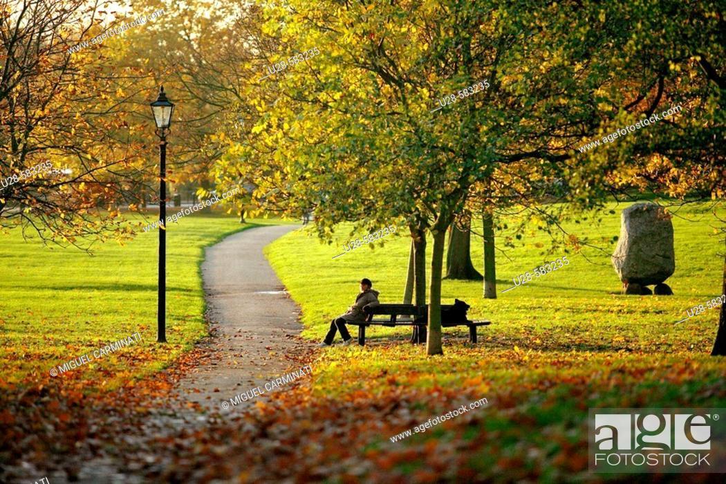 Stock Photo: Hyde Park, London, England.
