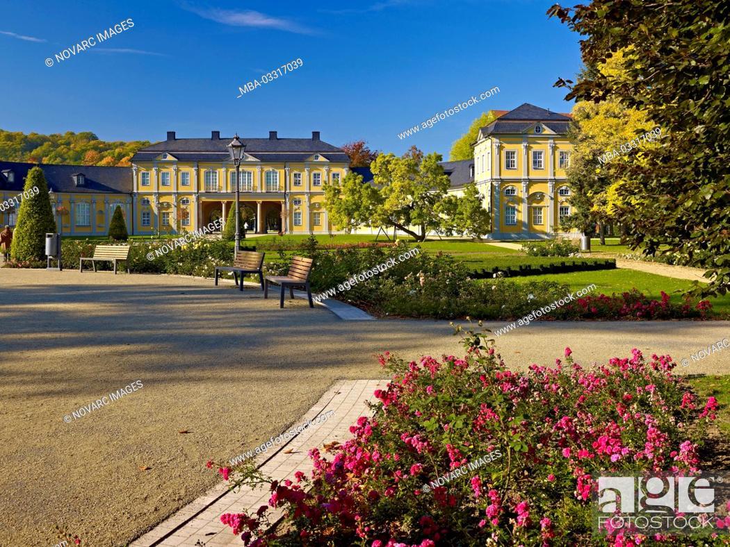 Stock Photo: Orangery in Gera, Thuringia, Germany,.