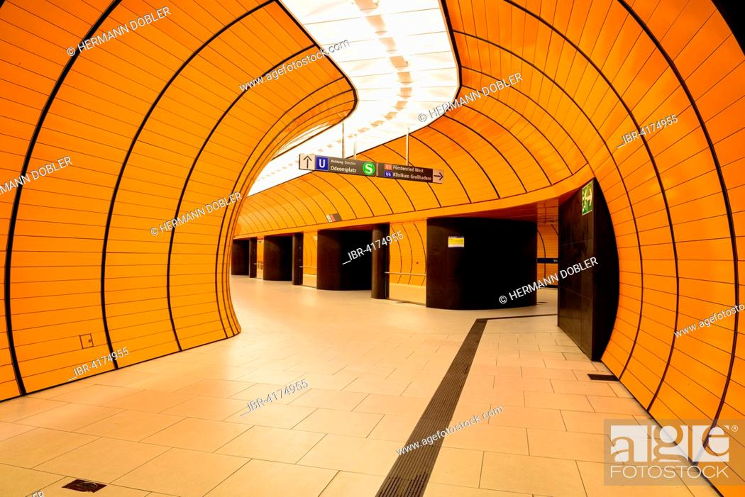 Photo de stock: Metro Station Marienplatz, Munich, Bavaria, Germany.